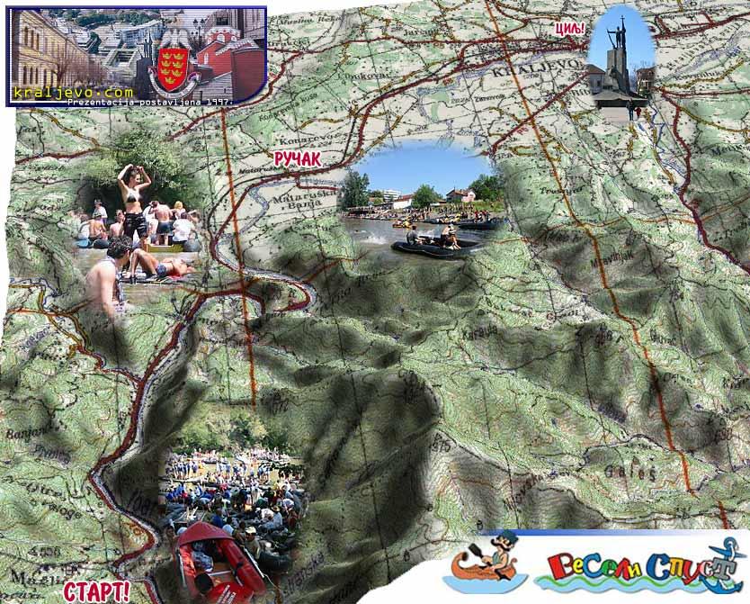 Rafting Brunoraft Happy Descent Ibarska Regatta Adrenaline